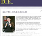 Denis Zanini no Blog da Revista Due, Março 2012